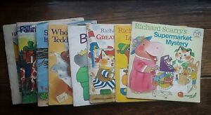9 Vintage Best Book Club Ever. PB. 1969-78 Richard Scarry. Babar. Oliver...