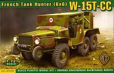 Ace Models 1/72 French World War II W-15T-CC 6x6 TANK HUNTER