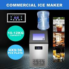 4x9 36 Ice Cubes Commercial Ice Maker Machine For Restaurant Bar 100lb24h 300w