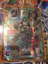BT7-115 SPR Broly, Tragedy Foretold Mint Special Rare Dragon Ball Super Card