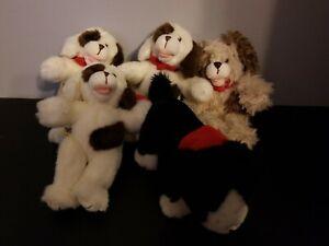 "LOT OF 5 Build A Bear 6"" Mini Magnet Lil Furry Friends Bearemy Pals Plush"