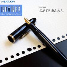 "Sailor Calligraphy ""Fude DE Mannen Profit Fine ~ Broad nib 10-0212-740 Pen FP"