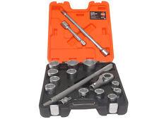 Bahco SLX17 Socket Set of 17 Metric 3/4in Drive