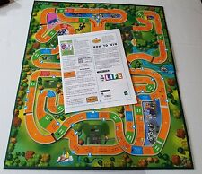 The Game of Life Game Board & Instructions Replacement Parts Piece 2002