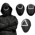 Squid Game Cosplay Mask Square Circle Triangle Squid Game Masks Full Face (USA)
