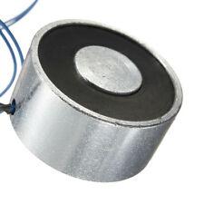 55LB 25kg Electric Lifting Magnet Electromagnet Solenoid Lift Holding Holder 12V