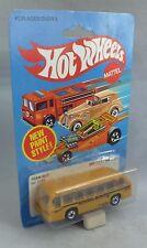 Hotwheels 3256 bus del equipo Ruedas De Pared Negro autobús escolar