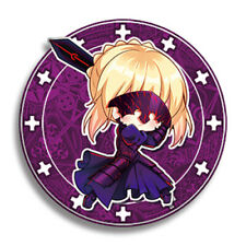 Fate Grand Order FGO Artoria Alter Saber Metal Pins Badge Buttons