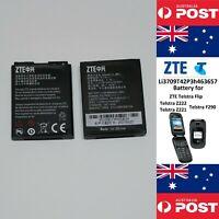 GENUINE ZTE Telstra Flip Battery Li3709T42P3h463657 900mAh  - Local Seller