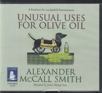 Alexander McCall Smith Unusual Uses For Olive Oil 4CD Audio Book Unabridged