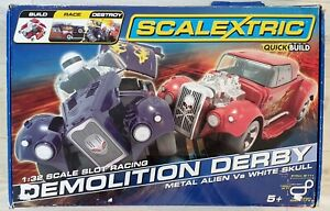 Scalextric Set - Demolition Derby -  boxed complete - Free post