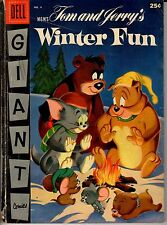 DELL Giant Comics Tom and Jerry's Winter Fun 1955 G/VG 3.0