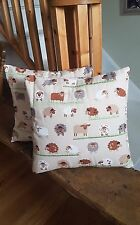 Quilted Cushion, Sheep Patch