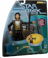 Star Trek Warp Factor 1 Q Galactic Gear Sealed Figure Playmates 1997 Free Ship