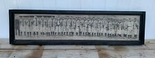 Antique Rustic 1909 Detroit Tigers Panoramic Direct Print on Wood - Ty Cobb WOW