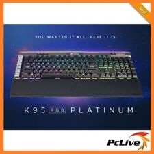 Corsair K95 RGB PLATINUM Mechanical Gaming Keyboard Cherry MX Speed Switch USB