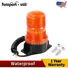 30 LED Emergency Warning Strobe Light Amber Rotating Beacon Lamp Forklift Truck