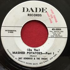 NAT KENDRICKS & THE SWANS ~ DO THE MASHED POTATOES ~ MOD TITTYSHAKER PROMO 45