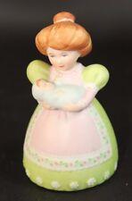 Vintage Avon 1988 Fine Collectible! Ceramic Women Holding Baby Bell