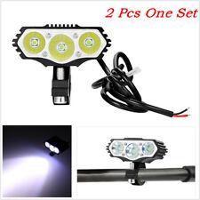 2 Pcs Motorcycle ATV 6500K 30W LED Driving Headlight Fog Driving Lamp Waterproof