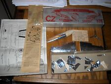 CZ Model Airplane Co., Aluminum Covered Airplane P-39 Airacobra Kit Started