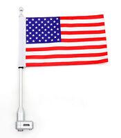 Fahnenstange Fahnemast Flaggenhalter American Für Honda GoldWing GL1800 01-12 AH
