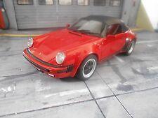 PORSCHE 911 Speedster 3.2 Carrera 1986 rot G-Modell NEU NEW GT Spirit Res 1:18