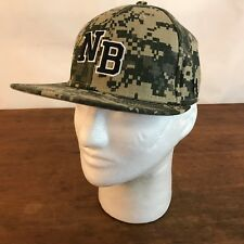 NB Under Armour Camouflage Stretch Fit Baseball Cap Hat Medium (CH21)