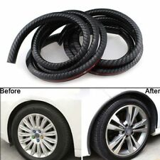 "2x59"" Carbon Fiber Car Fender Flares Extension Wheel Eyebrow Protector Trim Lip"