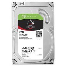 "Seagate IronWolf 4TB NAS Hard Drive 5900 RPM 64MB Cache SATA 6.0Gb/s 3.5"" Intern"