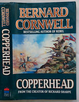BERNARD CORNWELL.COPPERHEAD.1ST/1 H/B 1994.AMERICAN CIVIL WAR