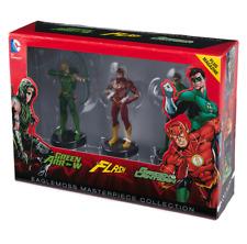 Figurines Justice League : Flash, Arrow & Green Lantern Eaglemoss neuves
