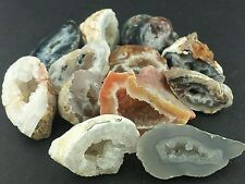 OCO AGATE 1/4 Lb Lots Natural Mineral Half Geode Crystals