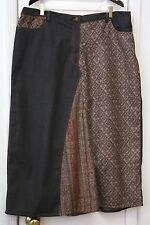 Taillissime Woman's Plus Size 20 Jeans Skirt NWT