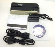 Msr09 X6 W/ Mini300 Dx3 Usb-Powered Smallest Magnetic Encoder Writer Grey