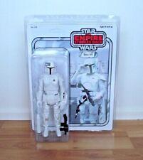 """Star Wars Gentle Giant Custom WHITE BOBA FETT PROTOTYPE ARMOR Jumbo 12"""" Kenner"""