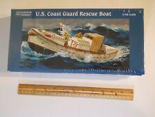Glencoe U.S. Coast Guard Rescue Boat #5301 Plastic Model Kit,(New In Sealed Box)