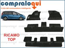 TAPPETINI per CITROEN GRAND C4 PICASSO 2007> MOQUETTE + fondo GOMMA + RICAMO TOP