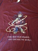 JFrog Java Developer Employee Binaries Wonder Woman Parody T-Shirt Size 2XL XXL