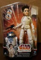 Star Wars: Force of Destiny - Princess Leia Organa & R2-D2 - Doll Figure
