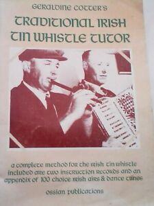 Geraldine Cotter's Traditional Irish Tin Whistle Tutor Irish airs and dance tune