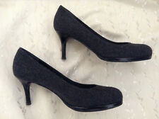 Russell & Bromley dark grey court shoes in fabulous condition (size UK 6)