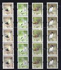 HONG KONG 2006 BIRD DEFINITIVE COIL STAMP FULL SET 4v STRIP OF 5 VF MNH - BIRD