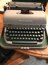 Vintage Remington Deluxe Letter-Riter Tabulator Portable Typewriter