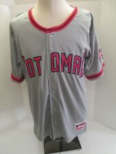 POTOMAC NATIONALS LTD. ED SGA MEN'S GRAY BASEBALL JERSEY. NEW W/TAG - WASHINGTON