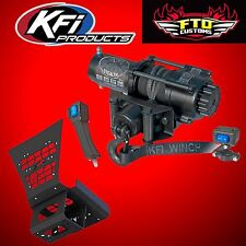 KFI SE35 Stealth 3500lb Winch and Mount Kit 12-17 Arctic Cat Wildcat 4 1000 UTV