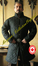 Medieval Armor Long Sleeves Gambeson Deluxe with Collar