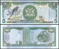 Trinidad & Tobago $5 Dollars, 2006, P-47, UNC
