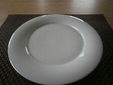 Speiseteller rund 28 cm Jade  weiß uni Königlich Tettau Porzellan  Teller Neu