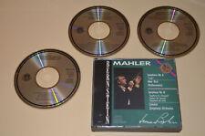 Mahler - Symphony 6 & 8 / Bernstein / CBS 1986 / Made In Japan / 3CD Box / Rar